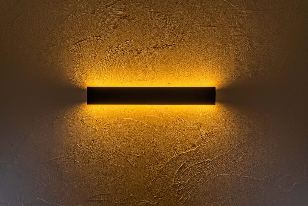 クラフトワン 八女 八女市 工務店 平屋 寝室 間接照明 塗り壁 かっこいい 新築 注文住宅