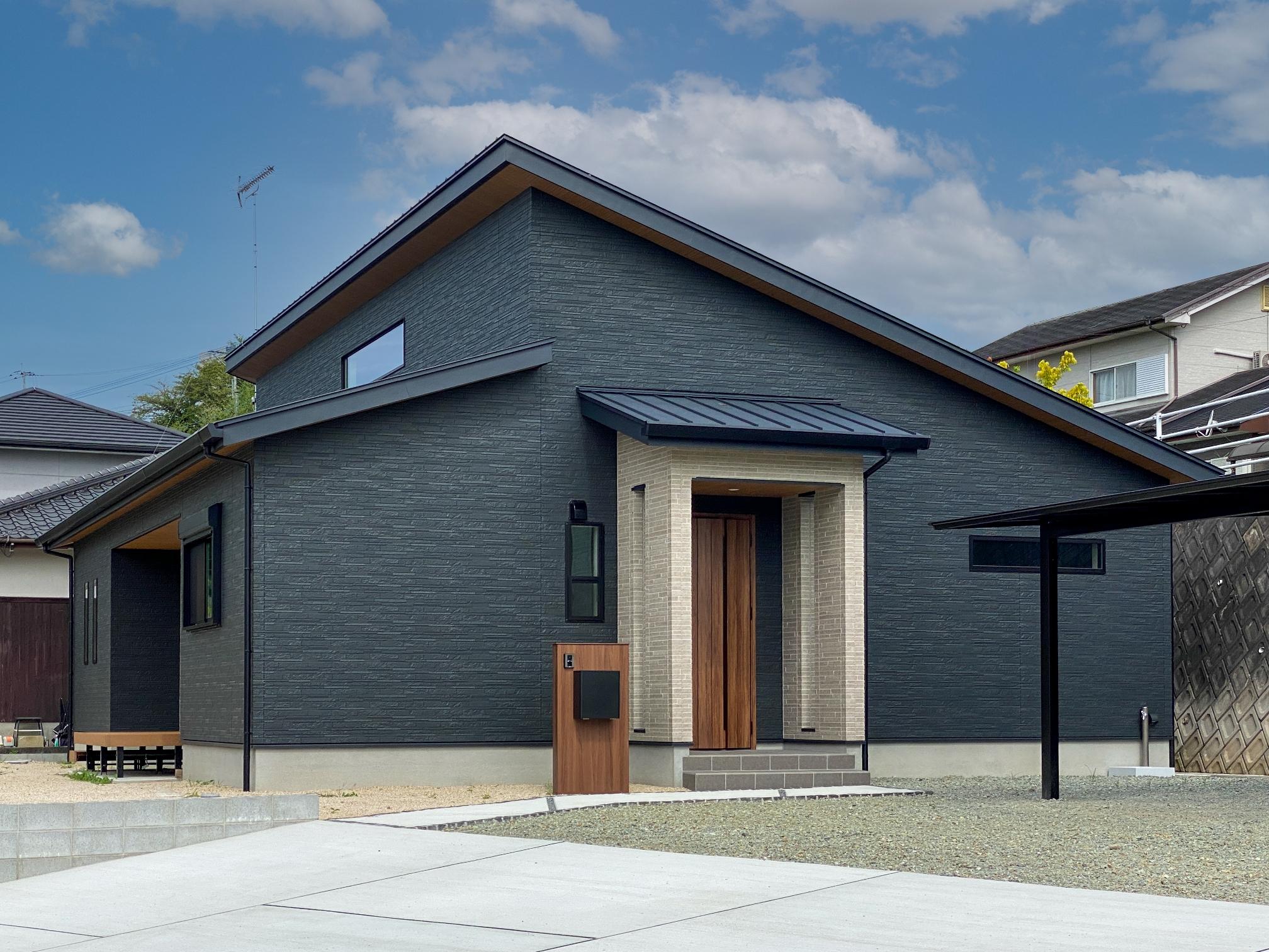 【新築】光と風を招き入れる居心地いい平屋
